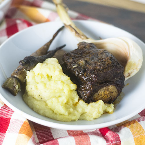 Pressure Cooker Short Ribs from Feed Your Soul Too