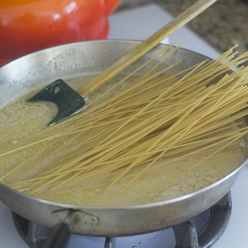 Gluten Free Spaghetti Added