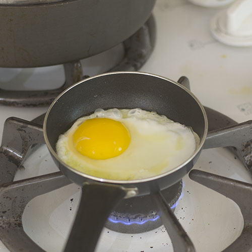 Frying of the Egg