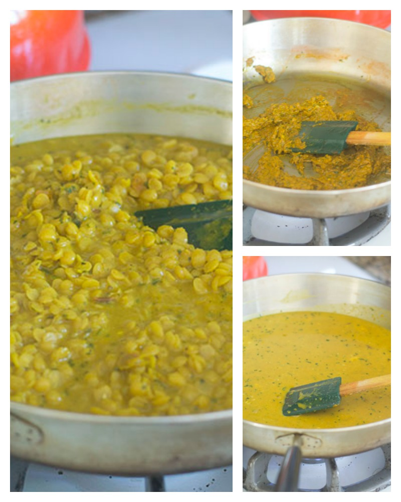 The Building of the Yellow Curry Lentils