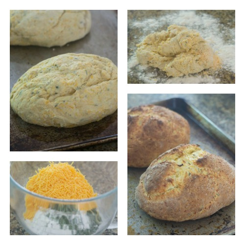 The Mixing of the Dough through the Baking