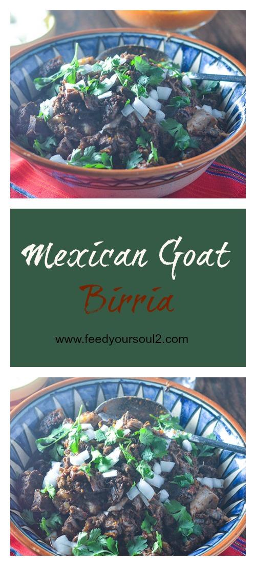 Mexican Goat Birria #goat #tacos #Mexianfood | feedyoursoul2.com