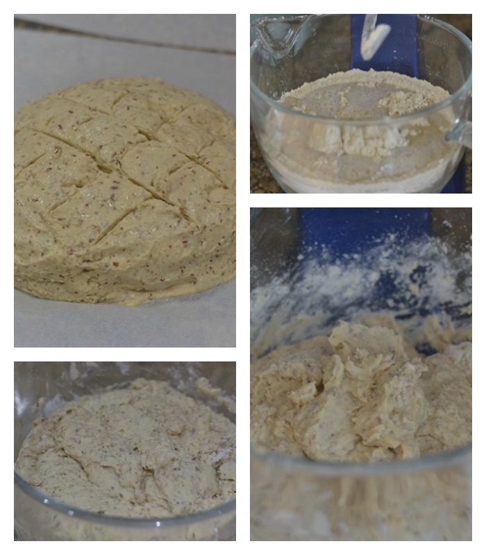 Making the Gluten Free bread