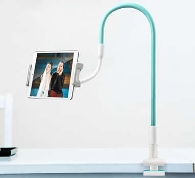 360 Degrees Rotating Bed Desk Table Mount Holder Stand For
