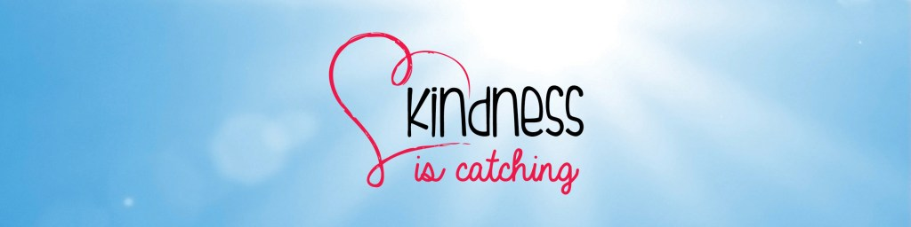 This is the banner imae for kindness is catching
