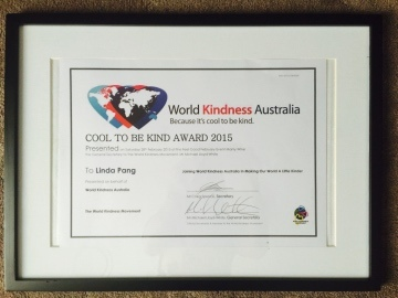 This is the image of the Kindness Australia Award