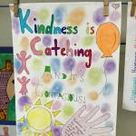 This is an image of a Kindness Is Catching poster by Year 6 students