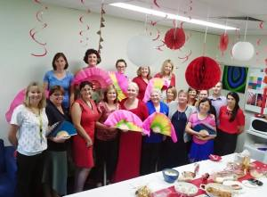 This is an image of Central Queensland University hosting a Chinese New Year party for a colleague