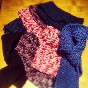 This is an image of scarves