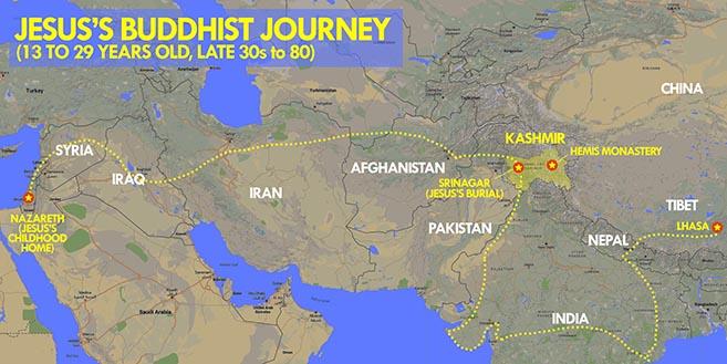 The Buddhist Journey of Jesus