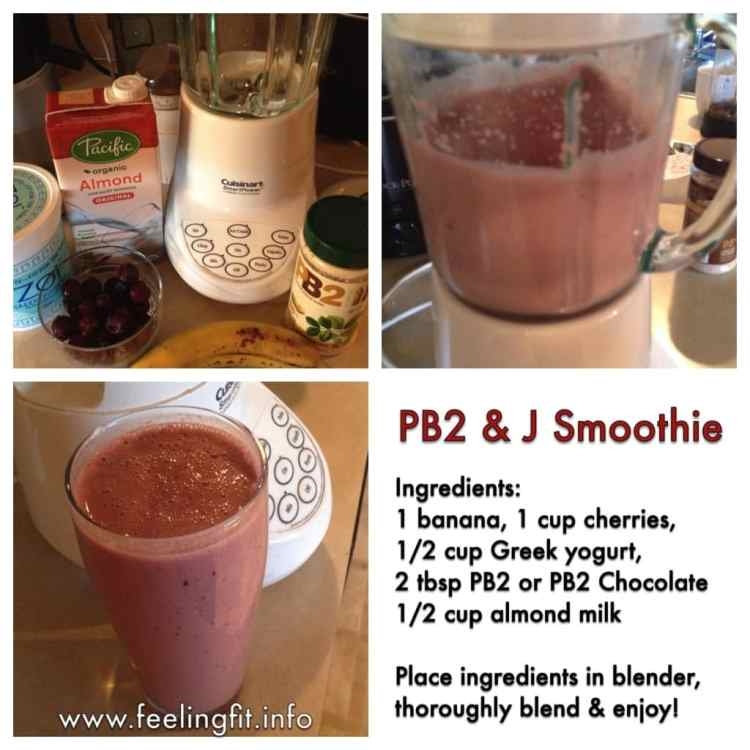 PB2fruitsmoothie