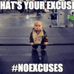 What Does No Excuses Really Mean? #NoExcuses #SweatPink