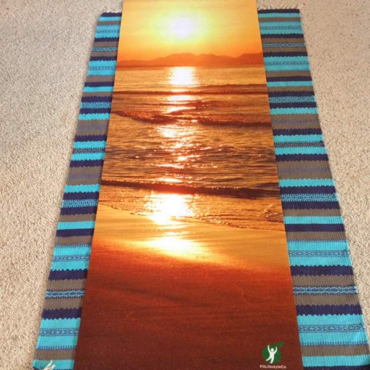 Spring Into Fitness With A Gorgeous Yoga Mat Feeling Fit