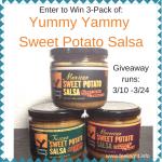 Yummy Yammy Sweet Potato Salsa Giveaway #sweetpotatosalsa #luckoftheirish