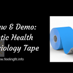 Review: Poetic Health Kinesiology Tape #poetichealth
