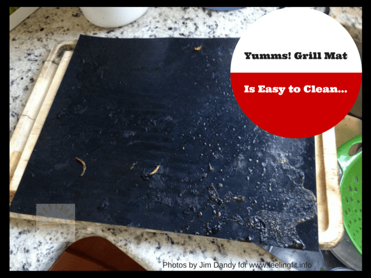 The Yumms Grill Mat review on www.feelingfit.info
