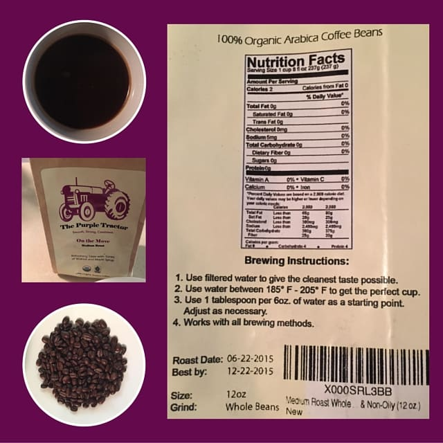 Purple Tractor ingredients