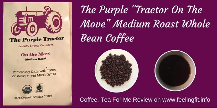 The Purple _Tractor On The Move_ Medium