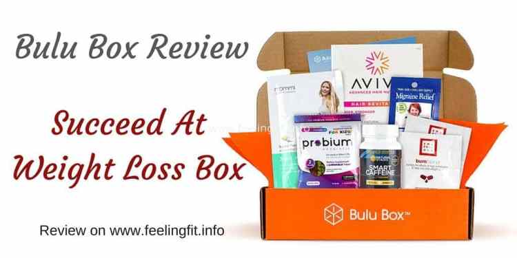 A review of the Bulu Box Succeed At Weight Loss Box September 2015 from www.feelingfit.info