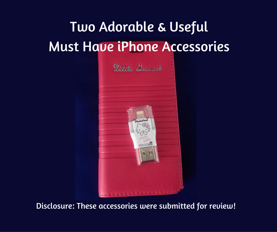 Two Adorable & Useful Must Have iPhone Accessories