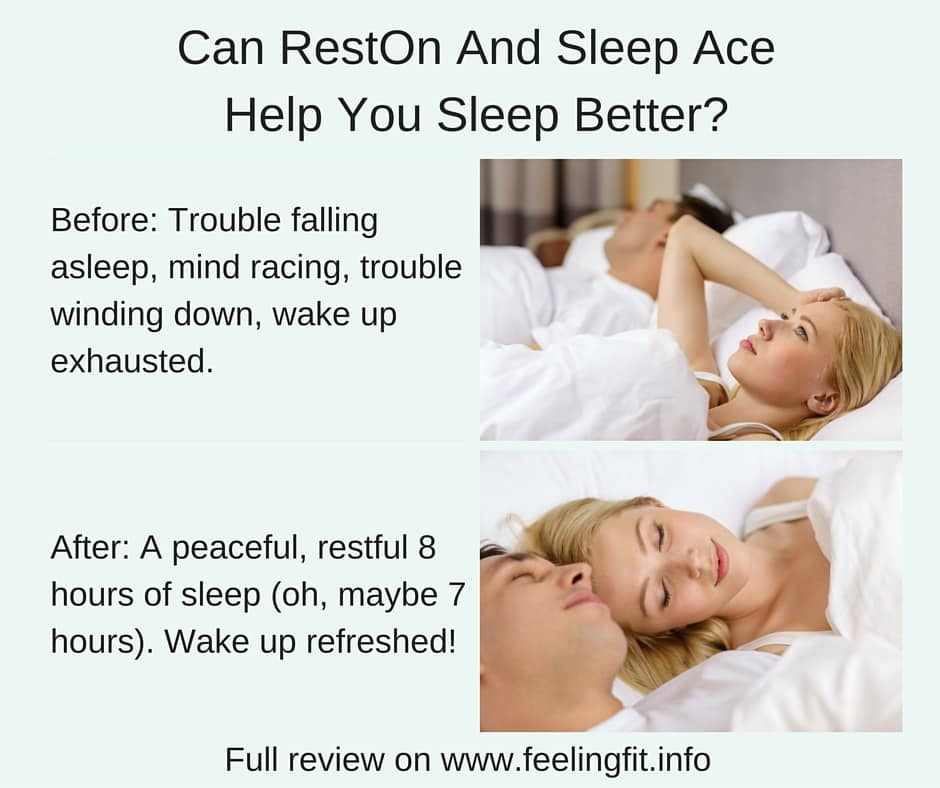 Can RestOn And Sleep Ace Help You Sleep Well?