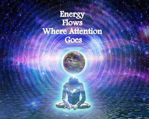 Energy Flows Where Attention Goes Feelin Good Feelin Great