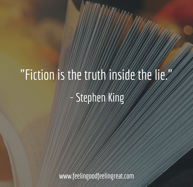 Stephen King Fiction quote