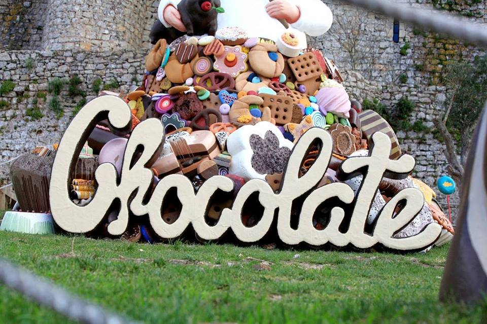 Óbidos está mais doce até 25 de Abril