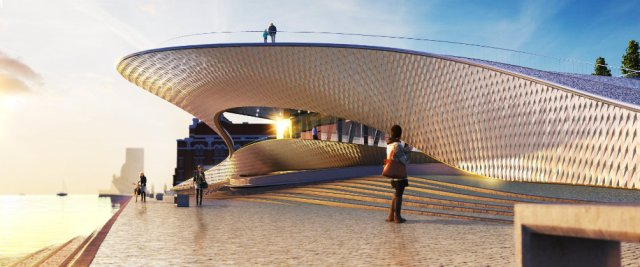MAAT- Fonte: Amanda Levete Architects