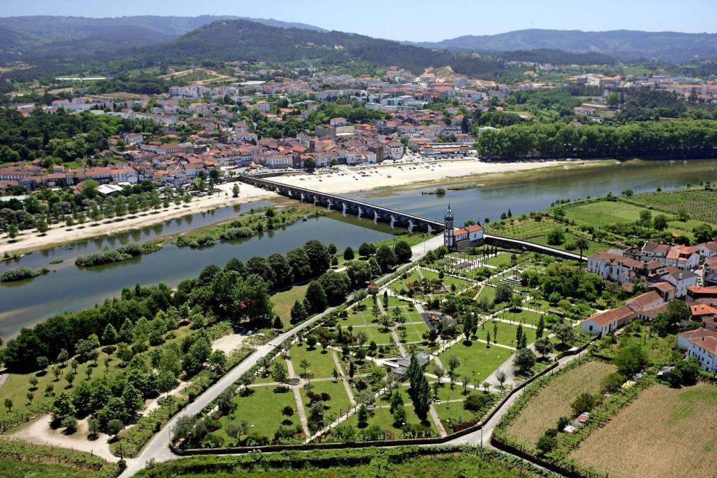 Vista Aérea de Arcozelo - Ponte de Lima - cm-pontedelima.pt
