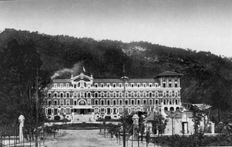 Entrada - Vidago Palace Hotel