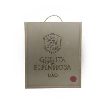Caixa De Madeira Vinhos 075