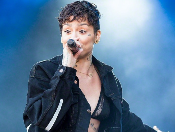 Kehlani at the minor stage during Stavernfestivalen in Stavern on 09. July 2016. Lineup: Kehlani Parrish (vocal)