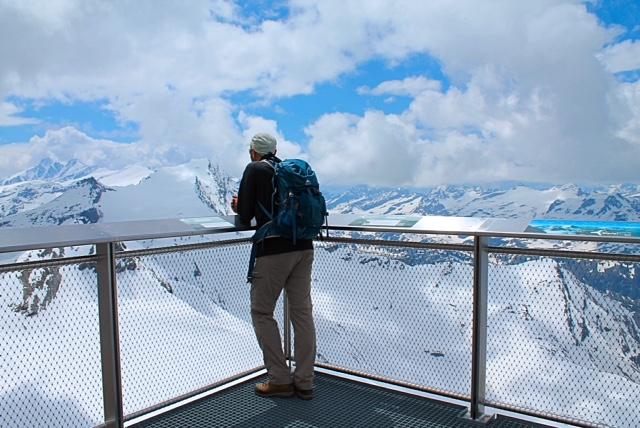 climb up to kietsteinhorn Gipfelwelt
