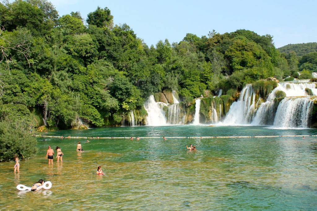 parque nacional krka ruta en bicicleta desde croacia a montenegro