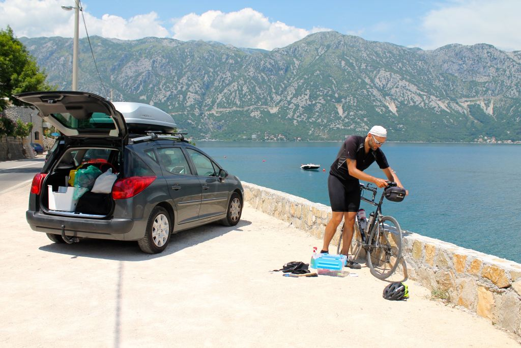 En bici de Montenegro a Albania