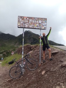 beklimming Passo Menghen