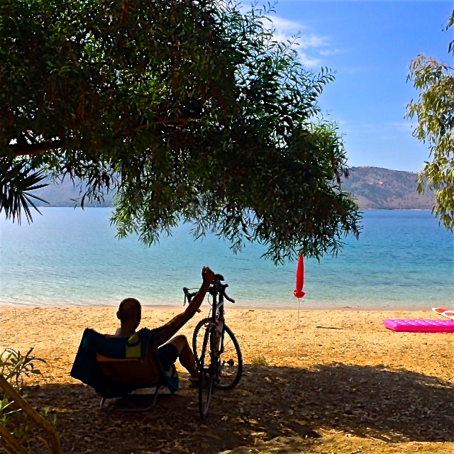 7 etapa Grecia en bicicleta hasta Atenas