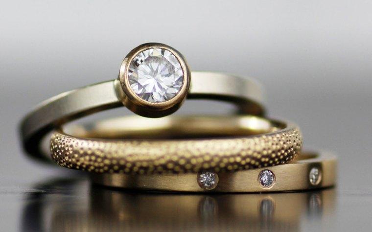 Stacked Wedding Ring