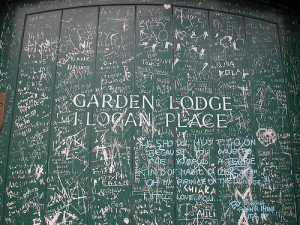 Garden Lodge Door Freddie Mercury Queen Death