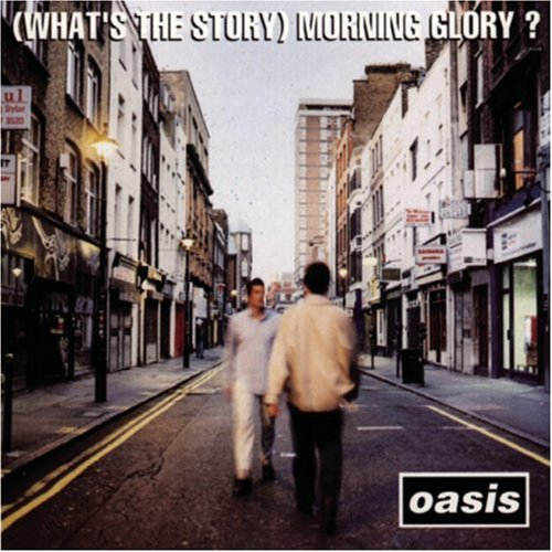 Image result for what's the story morning glory album cover