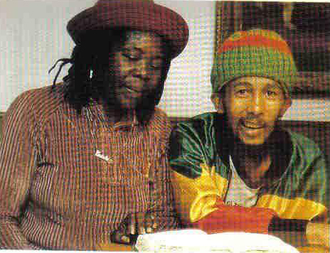 Bob Marley Last Photo Cedella
