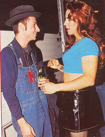 Stone Gossard Anthony Kiedis Pearl Jam Red Hot Chili Peppers Cross Dressing