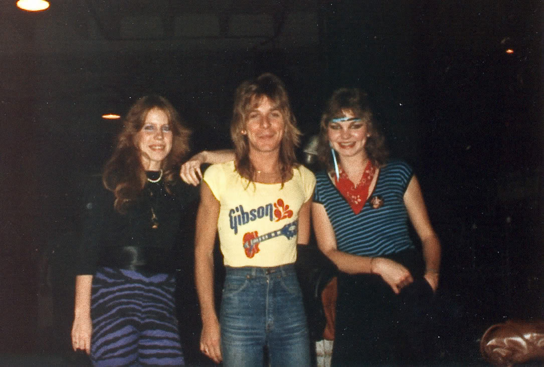 Randy Rhoads Last Photo Knoxville Tennessee March 18, 1982 Last Show