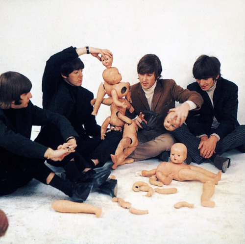 The Beatles Butcher Album Cover Photo Shoot