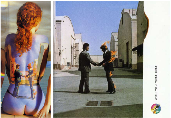 Pink Floyd Back Catalogue Wish You Were Here Body Paint