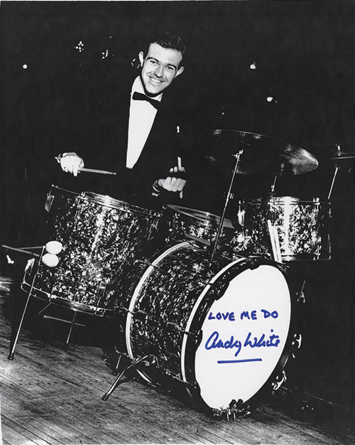 Andy White The Beatles Love Me Do Session Drummer 1962