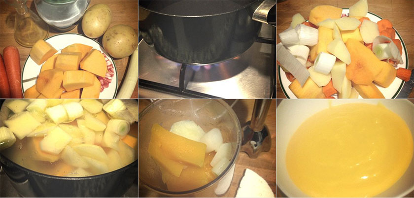Pasos Crema de Calabaza   Feelomena's Kitchen - Web Oficial