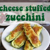 Cheese Stuffed Zucchini
