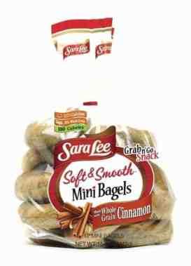 Sara Lee Soft & Smooth Mini Bagels